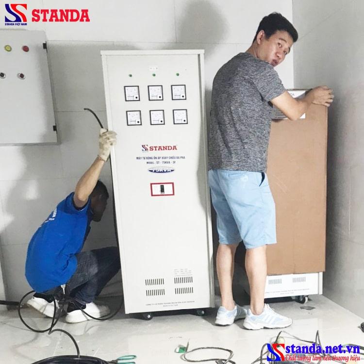 Cần chuẩn làm gì trước khi đấu nối ổn áp 3 pha Standa