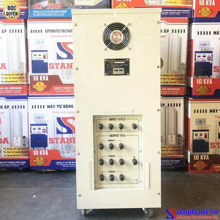 Đặc điểm của ổn áp 3 pha STANDA 30kva loại ổn áp 3 pha tốt nhất được bán chạy nhất hiện nay