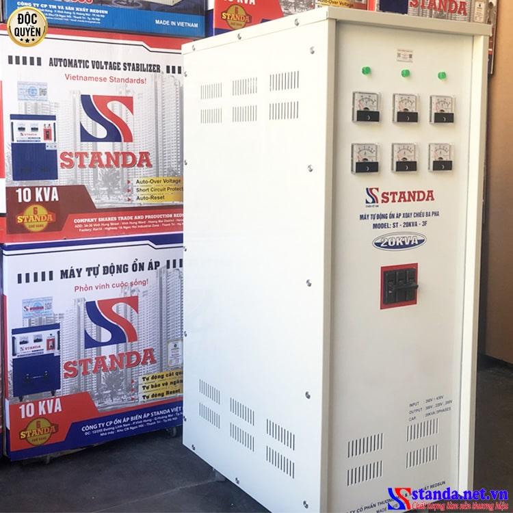 hình ảnh ổn áp Standa 3 pha đang được bán chạy nhất hiện nay - ổn áp 3 pha 20kVA