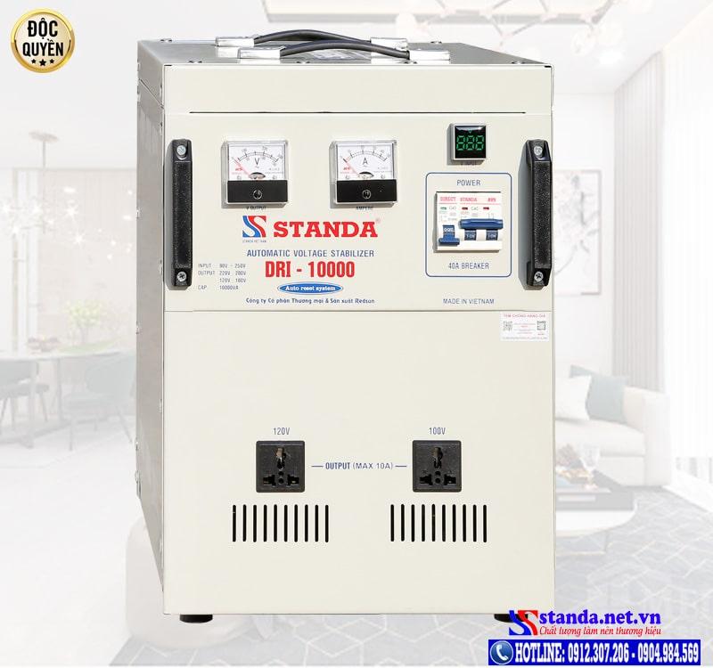 Hướng dẫn phân biệt ổn áp Standa chính hãng của Công ty Redsun