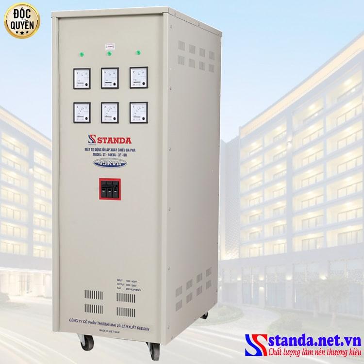 Hình ảnh ổn áp 3 pha Standa 45KVA - loại ổn áp bán chạy nhất hiện nay