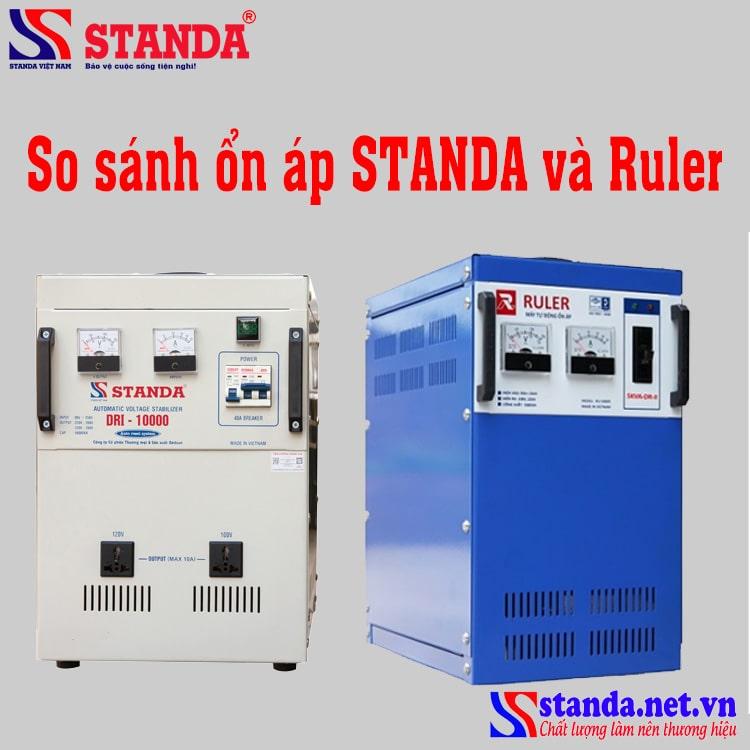 So sánh ổn áp ruler và STANDA