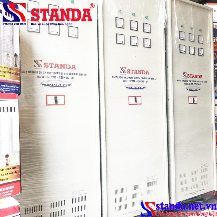 Ổn áp STANDA 150KVA 3 pha tích hợp đổi nguồn