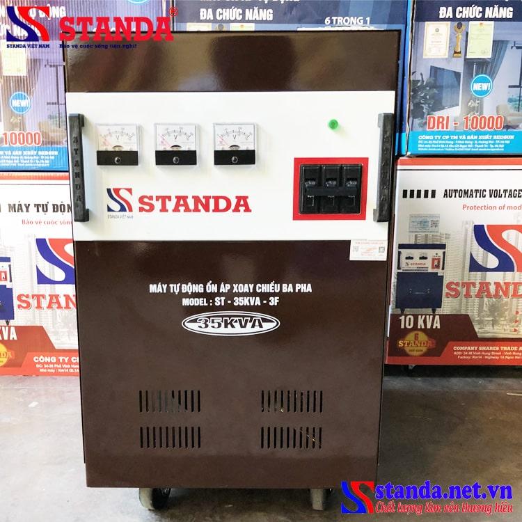 Ổn áp Standa 35KVA 3 pha máy đặt đặc biệt