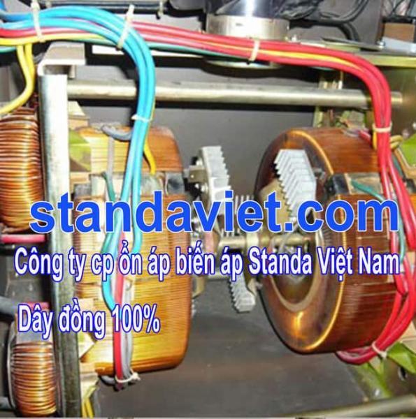 Standa 20kva chính hãng lõi quấn dây đồng 100%