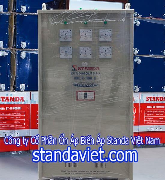 Ổn áp Standa 150kva chính hãng Công ty Cổ Phần Ổn Áp Biến Áp Standa Việt Nam